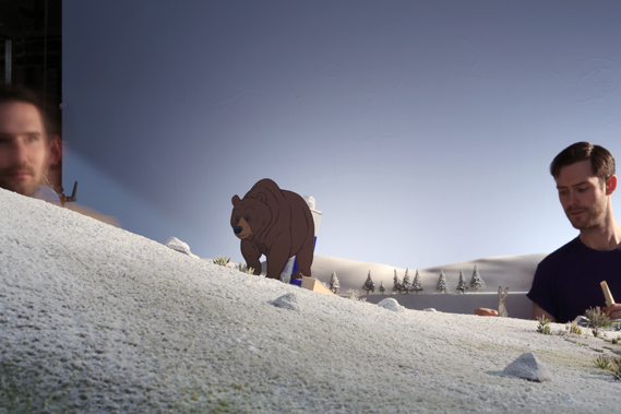 John Lewis Christmas Advert 2013.The Bear And The Hare John Lewis Christmas Advert 2013